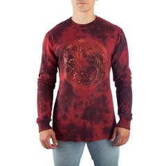 Game of Thrones Long Sleeve Shirt Targaryen TShirt Game of Thrones Shirt