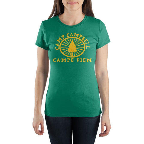 Campe Diem Camp Campbell Shirt Camp Camp Animated Apparel
