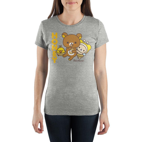 Honey Rilakkuma and Friends Juniors Graphic Tee