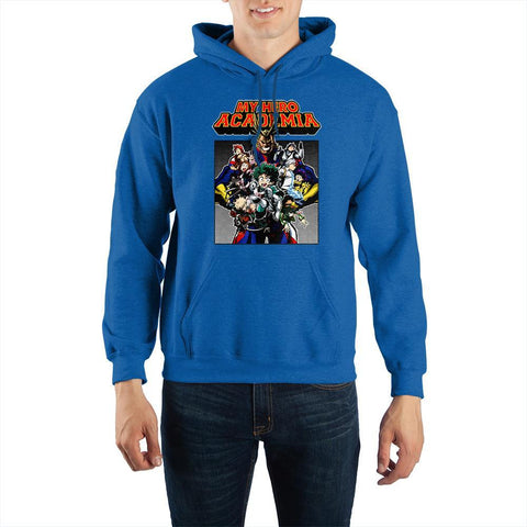 My Hero Academia Characters Pullover Hooded Sweatshirt