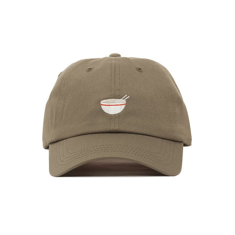 Comfortable Embroidered Noodle Head Dad Hat - Baseball Cap / Baseball Hat