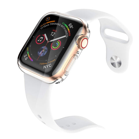 Clear Case for Apple Watch Series 4 & Series5 44mm with Built in TPU Screen Protector