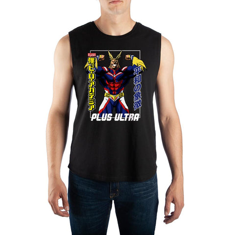 Mens All Might Muscle Shirt My Hero Academia Tank