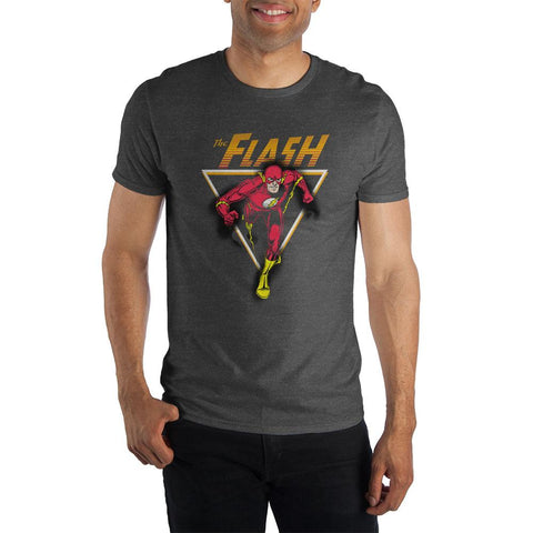 The Flash Men's Black T-Shirt Tee Shirt
