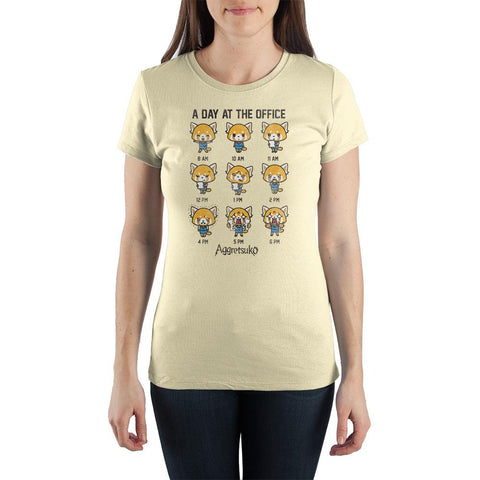 Juniors Aggretsukp Anime TShirt Aggressive Retsuko Apparel