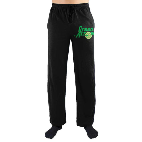 DC Comics Green Arrow Print Mens Loungewear Lounge Pants