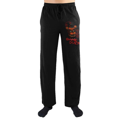 Five Nights at Freddy's Game Over Sleep Pants