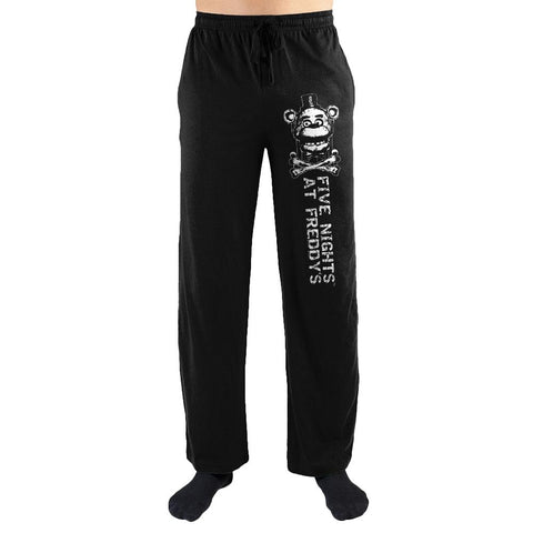 Fives Nights at Freddys Freddy Fazbear Print Mens Loungewear Lounge Pants