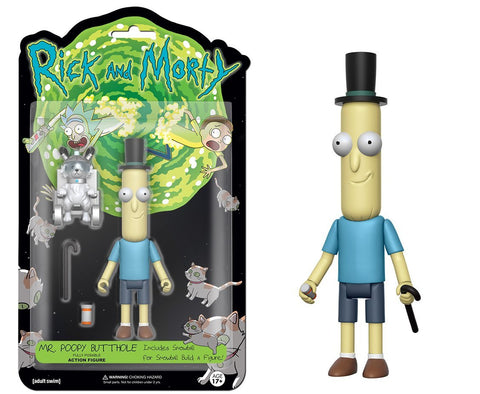 "Funko 5"" Articulated Action Figure: R&M - Poopy Butthole"