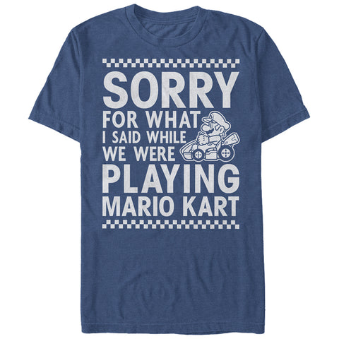 Playing Mariokart - T Shirt