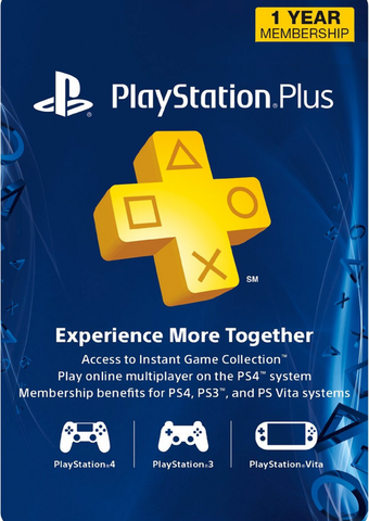 Playstation Plus 1 Year Membership - Digital