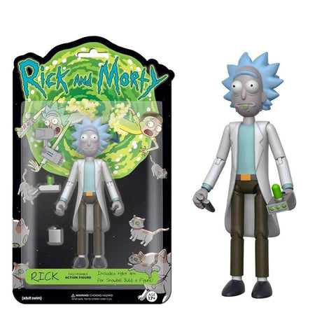 "Funko 5"" Articulated Action Figure: R&M - Rick"