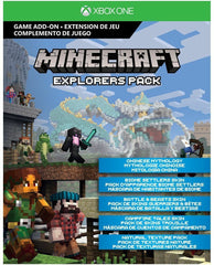 Minecraft Explorer's Pack for Xbox One (Email Delivery)