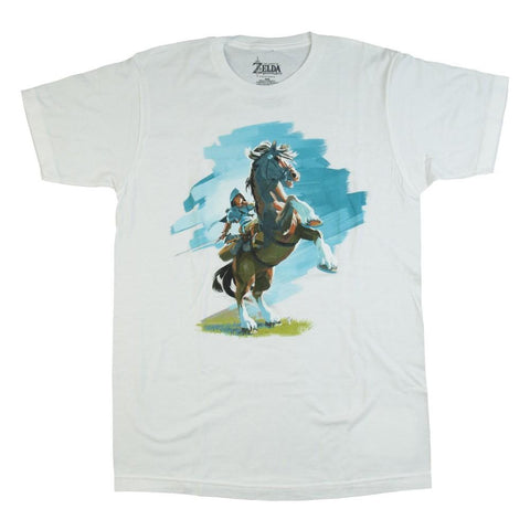 The Legend of Zelda Breath of the Wild Mounted Horse Tshirt