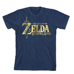 The Legend of Zelda Breath of The Wild Gold Logo T-Shirt