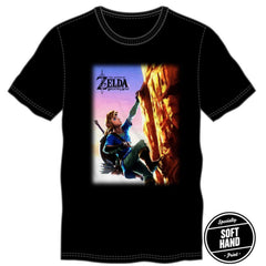 The Legend of Zelda Breath of the Wild Moutain Tshirt