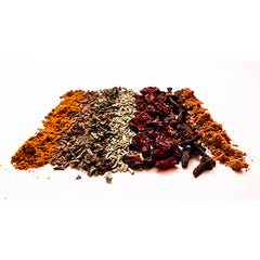 array of dried spices