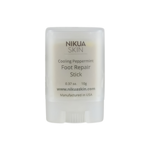 Cooling Peppermint Foot Repair Stick for At-home Foot Care