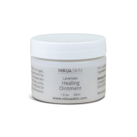 Healing Ointment Front Label