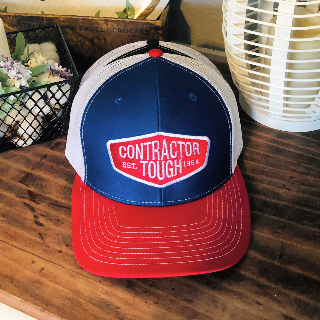 Contractor Tough - Red/ White/ Blue