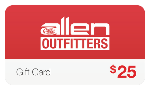 Allen Outfitters Gift Card