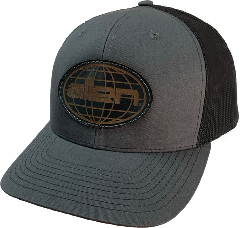 Richardson Black Allen Globe (Leather Patch)