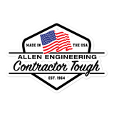 Made in the USA - Allen Engineering Bubble-free stickers