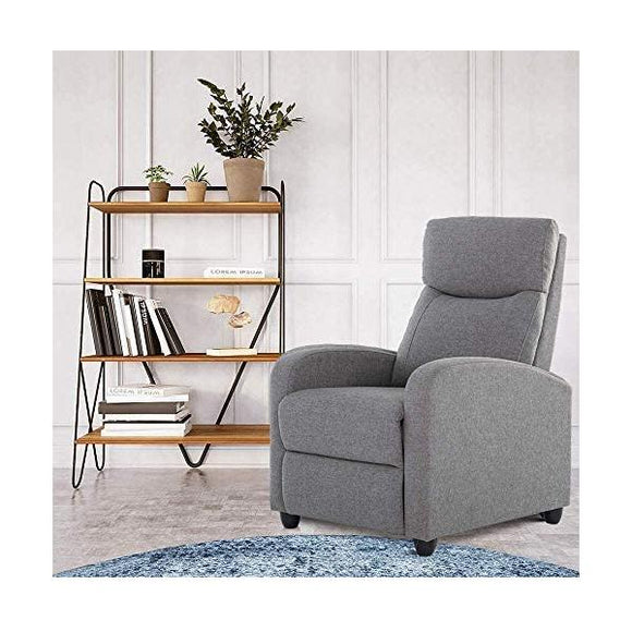 Massage TV Recliner Chair With Footrest (Grey or Black)