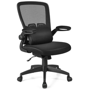 Breathable Ergonomic Desk Chair With Flip Up Arms