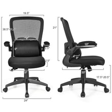 Load image into Gallery viewer, Breathable Ergonomic Desk Chair With Flip Up Arms