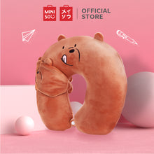 Load image into Gallery viewer, MINISO We Bare Bears Bantal Leher Tidur Bantal Sandar