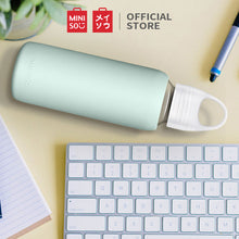 Load image into Gallery viewer, Miniso Botol Minum Kaca 300ml Glass Water Bottl, Gelas Air Botol Minum