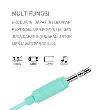 Muat gambar ke penampil Galeri, MINISO Headset Earphone Headphone  Gaming Dilipat Original Stereo Kebisingan Membatalkan Portable Simple