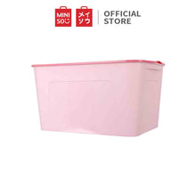 Load image into Gallery viewer, MINISO Kotak Penyimpanan Storage Box Baju Multifungsi Ukuran Sedang