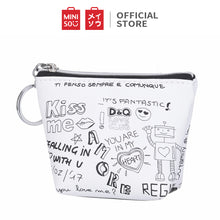 Load image into Gallery viewer, MINISO Dompet Koin Tas Kecil Mini Purse Wallet Simple Huruf Motif Lucu