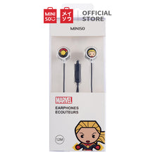 Muat gambar ke penampil Galeri, MINISO Marvel Earphone In Ear / Headset / Earbud / Headphone Hp Lucu Kabel Gaming Android Warna Stereo Noise Cancelling Bass With Mic Mikrofon Jawab Akhiri Panggilan