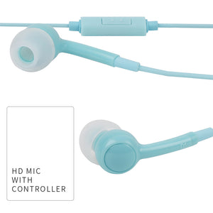 MINISO Earphone in Ear Earbuds Silikon Headphone Kabel Noise Cancelling Awet Universal