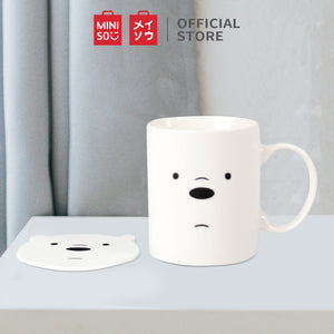 Miniso Official We Bare Bears Ceramic Mug/cup/cangkir