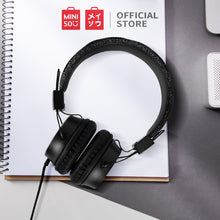 Muat gambar ke penampil Galeri, MINISO Headphone Headset Earphone Gaming Model Bando Over On Ear Telinga With Mic Gliter Anak Perempuan Cewek Pria Cowok Wanita Home Gamer Original Reduksi Kebisingan Audio Quality Portable Besar Kabel Wire  Extrabass Karakter Noise Isolating Cancellation