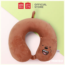 Load image into Gallery viewer, MINISO We Bare Bears- Memory Foam U-shaped Pillow /Bantal Travel