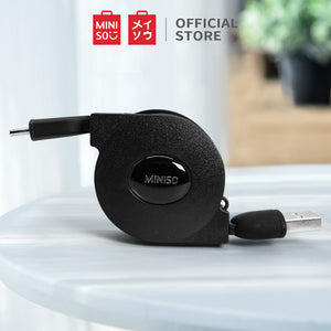 MINISO TIPE-C Kabel Data Charger 1m 2.1A