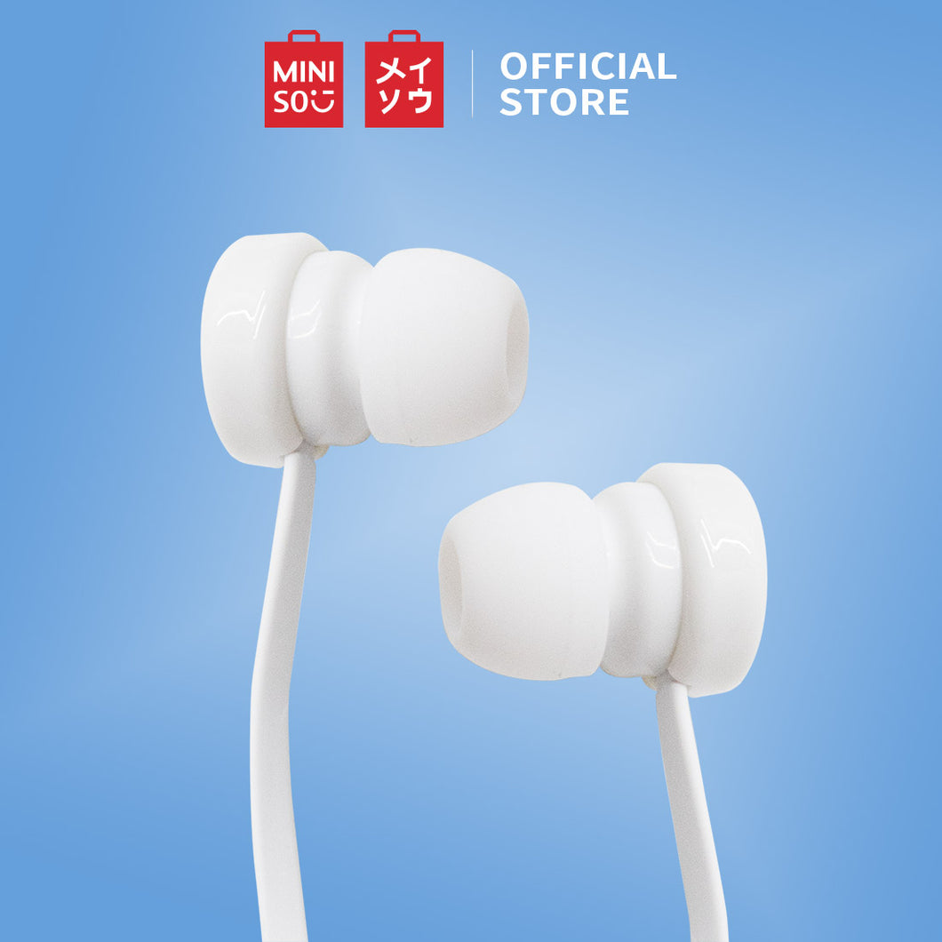 MINISO We Bare Bears Headphone In-Ear Headset Earphone
