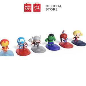MINISO Marvel Holder HP Ponsel Kursi Dudukan Cellphone Handphone Stand Mobile Phone Smart Meja Lazy