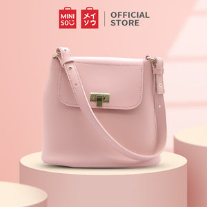 MINISO Stylish Simple Handbag Shoulder Bag Tas Wanita