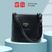 Muat gambar ke penampil Galeri, MINISO Stylish Simple Handbag Shoulder Bag Tas Wanita