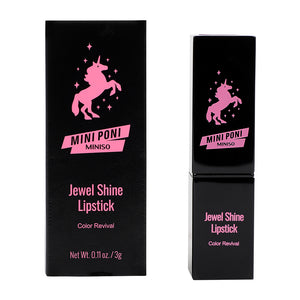 MINISO Beauty Mini poni Jewel Shine Lipstick