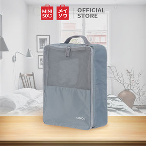 MINISO Minigo Portable Shoe Bag, Tas Penyimpanan Sepatu Portabel Travel Multifungsi Storage Bag Shoes