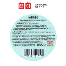 Load image into Gallery viewer, MINISO Botol Minum Plastik Travel Transparan Water Bottle Clear Transparant Plastic BPA Free 410ml (Hijau)