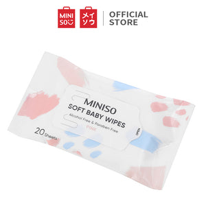 Miniso Soft Baby Wipes 20S