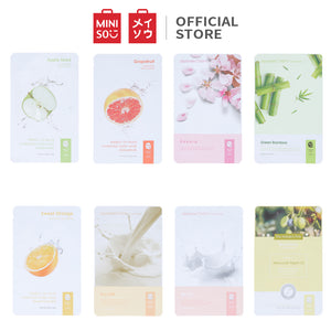 MINISO Masker Wajah Hydrating Sheet Mask Moisturizing Nature's Pick